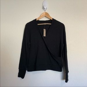 J Crew wrap sweater
